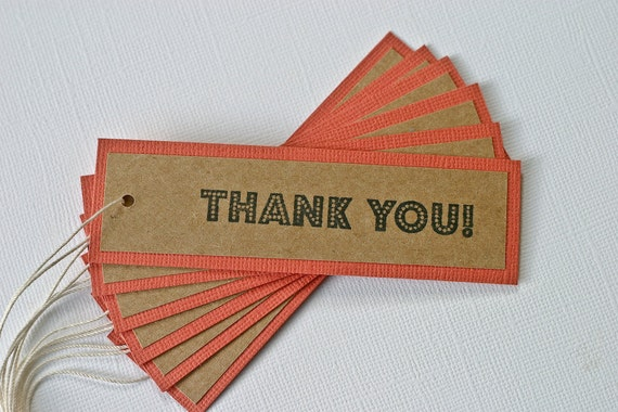 Gift Tags Favor Cards Thank You
