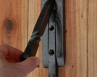 Railroad Spike DOOR KNOCKER, front door & entryway home decor from new standard RR spikes