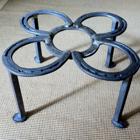 """Firepit insert stand, heavy duty stand for 12 qt. dutch ovens & 17-20"""" skillets.   MADE to ORDER"""