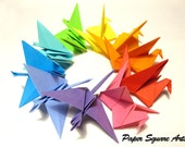 Happiness Bird Favors - Origami Decor for special events or as gifts
