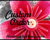 Custom order for Mary P.