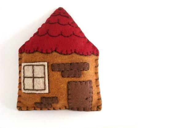 Felt Plush Miniature House Home Decor Sale