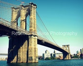 Brooklyn Bridge Photography 5x7