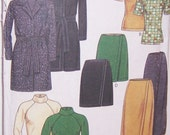 New Look Pattern UNCUT Jacket With Belt Top And Skirt For Knits Only Sizes 8-18 Number 6785 Great Spring Look