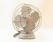 Vintage Rustic General Electric Oscillating Fan  //  Working Condition // General Electric Fan