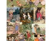 NURSERYLAND - Digital Collage Sheet Printable Download - 55