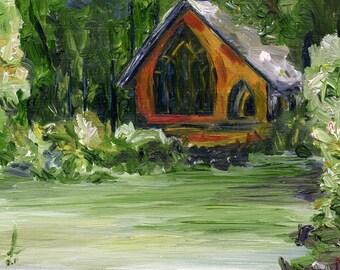 Casons Chapel, Callaway Gardens - Print
