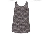 Cool Cocoa Shift Dress -- Custom Made by Wear the Shift