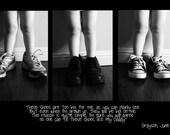 "Custom ""Daddy's Shoes"" Storyboard"