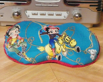 Cooling Migraine Mask Betty Boop Fuzzy