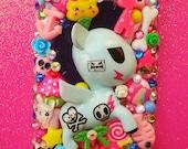Punky Kawaii Iphone 4 4s Decoden Phone Case