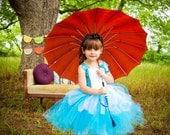 Alice in Wonderland Couture Crochet Tutu Dress