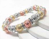 Rose Gold Multi Color Bracelet