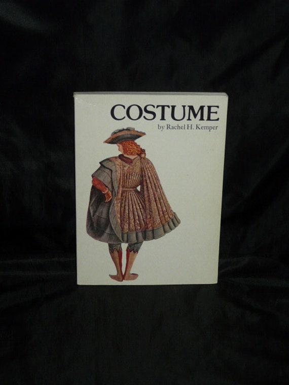 Costume Book Rachel Kemper Theater Theatre Art History Plays Ancient Egypt Renaissance Medieval Dress Clothing