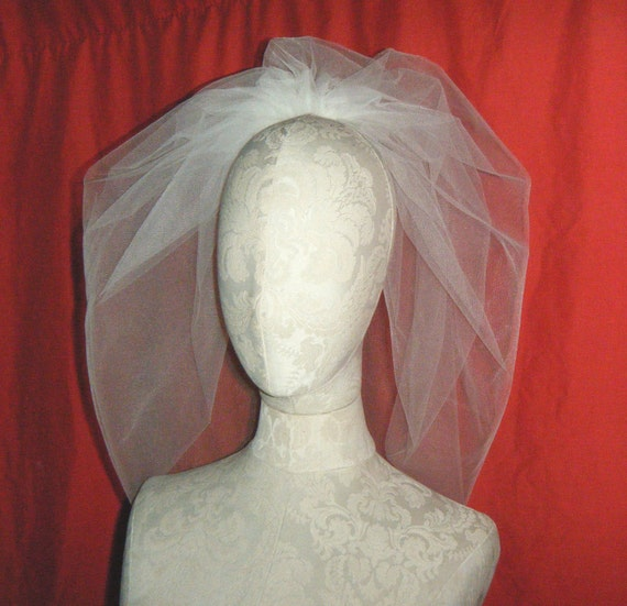 Veil BUBBLE, vintage inspired, Fun & Pretty, Ivory