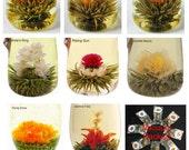 16 Blooming Tea Balls,Flowering Green Tea, Art Tea,Vacuum Packed,Commercial Grade