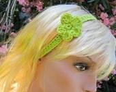crochet headband of any color