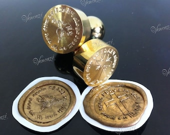 """30mm Tailor Made Logo Copper Handle Seal (plus """"FREE GIFT"""")"""