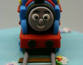 Choo Choo Train Cake Topper Set