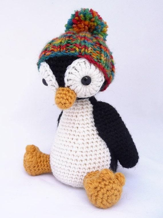 Amigurumi Oyuncak Yapimi Anlatimli : Items similar to OHJE - Amigurumi-pingviini ...