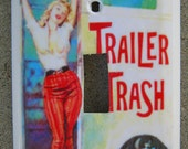 Trailer Trash Pulp Fiction Switchplate Adult Humor Sexy Pin Up