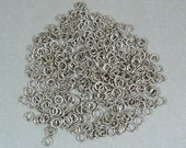 4mm Antique Silver Jump Rings - Choose Your Quantity