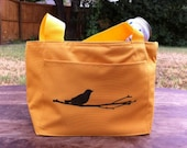 Bird on Branch Insulated Lunch Bag