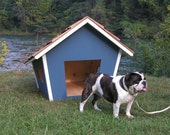 Dog House Plans - The Cape Dog House - Detailed Production Drawings - Digital Download