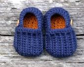 Easy on Loafers Crochet Pattern - Crochet Pattern 104 - Instant Downloads
