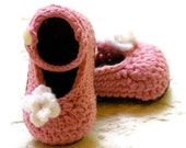 Crochet Patterns - My Oh My Mary Janes - Pattern number 100 - Instant PDF download