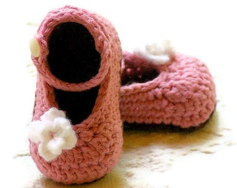Crochet Patterns - My Oh My Mary Janes - Pattern number 100 - Instant PDF download L
