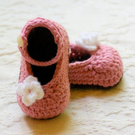 Mary Janes Crochet Pattern - Instant PDF Download - My Oh My Mary Janes Pattern number 100