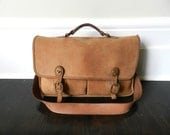 Leather Messenger Bag - Leather Cross Body Bag - Large Leather Tote Bag