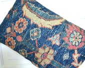 Persian Rug Pillow - Kilim Pillows - Oriental Carpet Cushion - Decorative Throw Pillow