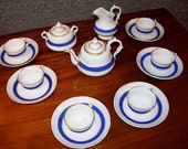 Child's Tea Set Service for 6