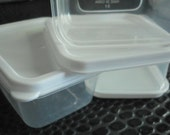 Bead storage 100 mini clear plastic containers