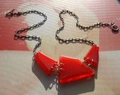 Fire Engine Fun Necklace