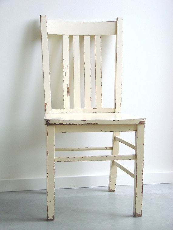 items similar to yellow vintage kitchen chair on etsy
