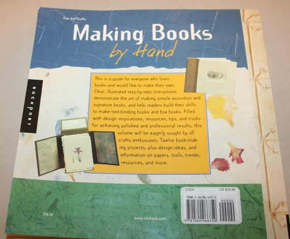 How To Make A Book By Hand : Making books by hand a step guide from