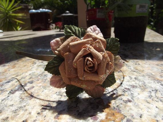 Foresty Flower Headband