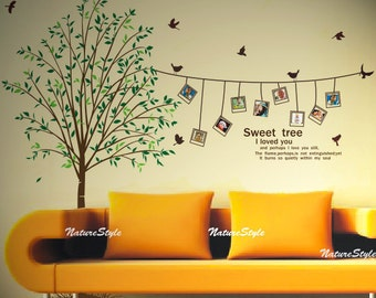 Beautiful Photograph on the tree-Vinyl Wall Decal,Sticker,Nature Design