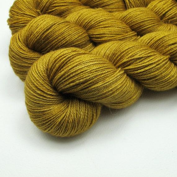 Exquisite sock - Alpaca / Silk / Cashmere - Amber (light)