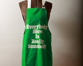 Long Apron 1970s BBQ Grill Chef's Apron