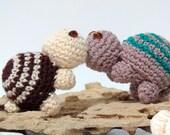 How to crochet Amigurumi cute turtles PATTERN PDF Tutorial
