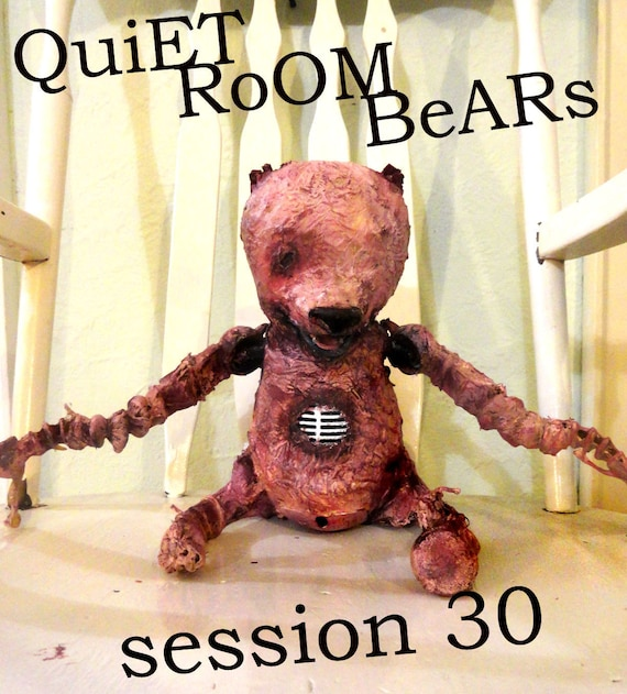 Quiet Room Bears - Session 30 (One of a Kind Original Art)