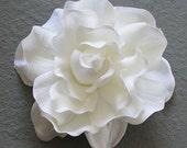 Large Natural Gardenia Wedding Hair Flower