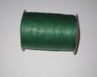100 Yards of PAPER Emerald Raffia