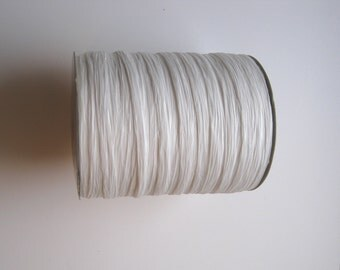 100 Yards of PAPER White Raffia