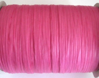 50 Yards of PAPER Beauty Pink Raffia