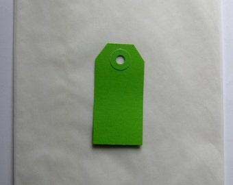 "Set Of  100 Large (1 lb.) WHITE GLASSINE Paper BAGS (5.75"" x 7.75"")"